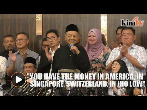 We will get 1MDB money back, says Mahathir