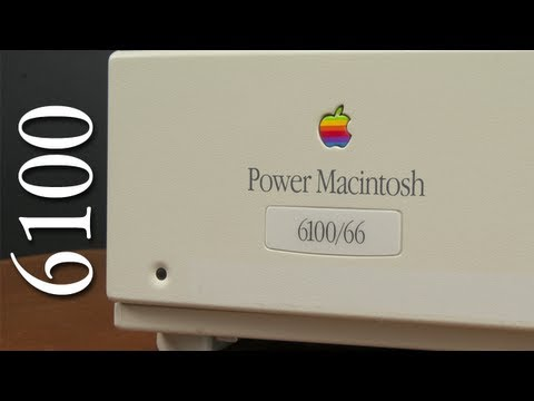 Power Macintosh 6100 Tour - First PowerPC Mac - Vintage Apple Tours
