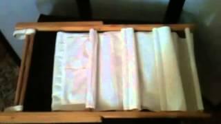 Folding Mag Rack White