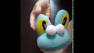 Фроки Покемон (Froakie) плюшева іграшка 18 см, огляд купити іграшку фроки в Україні