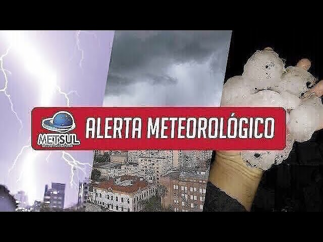 15/01/2021 - Fim de semana terá chuva e temporais | METSUL