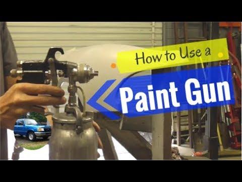 The Basics of How to Use an Automotive Paint Spray Gun