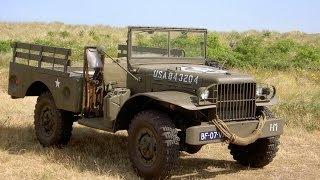 Dodge WC-51. Армейский автомобиль.