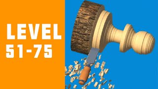 Woodturning 3D Game Walkthrough Level 51-75