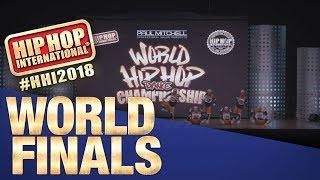 Hybrids of Hip Hop - Philippines   Adult Division at HHI's 2018 World Finals