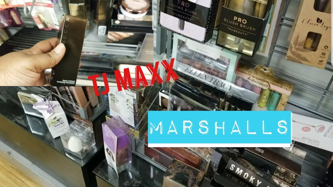 44422cf4785 Shop With Me For High End Makeup  TJ MAXX + MARSHALLS! - YouTube