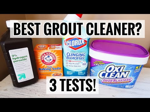 Oxiclean for Grout vs Toilet Bowl Cleaner for Grout: WHAT IS THE BEST GROUT CLEANER (& FASTEST)?