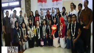 Pelajar SMA Indonesia Raih Juara Interfolk Di Rusia - BIP 25/11