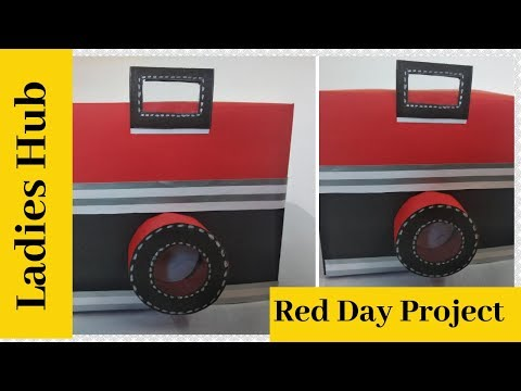 DIY Instax Card   How to make camera card  Red Day Project   Ladies Hub 