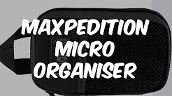 Maxpedition Micro ECD Kit Review and demo