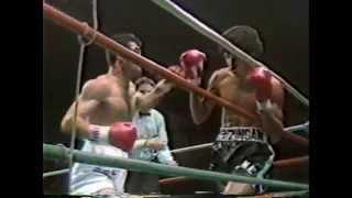 浜田剛史  VS  レネ・アルレドンド   (1986年)