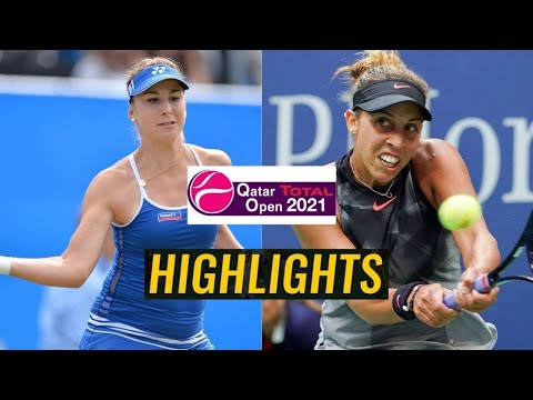 Belinda Bencic vs Madison Keys Highlights
