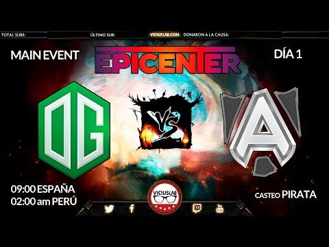 DOTA 2 - OG vs ALLIANCE - 1 - Fase de Grupos - EPICENTER - Viciuslab