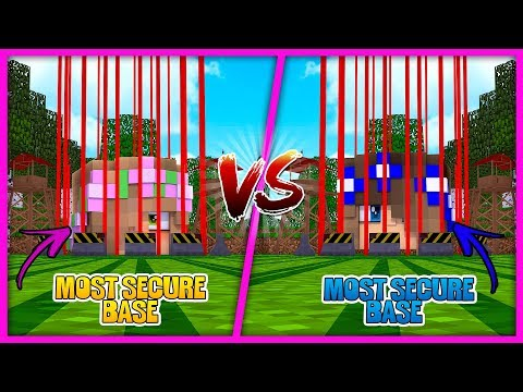 SISTER VS SISTER| LITTLE KELLY VS LITTLE CARLY | MOST SECURE | Minecraft Little Kelly Plays