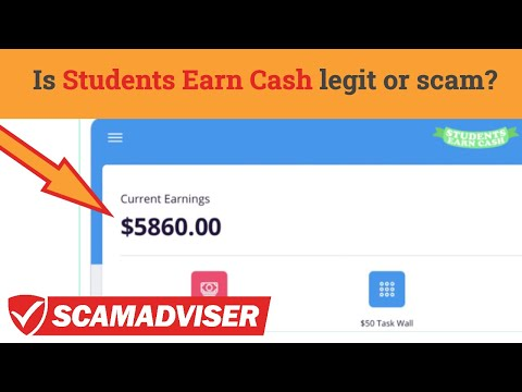 Students Earn Cash - legit way to make money or scam? StudentsEarnCash app reviews!