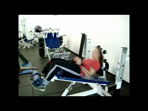 Staci Pratt - Situps with Cable Press