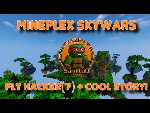 Mineplex Skywars: Fly Hacker(?) + Crazy Story!