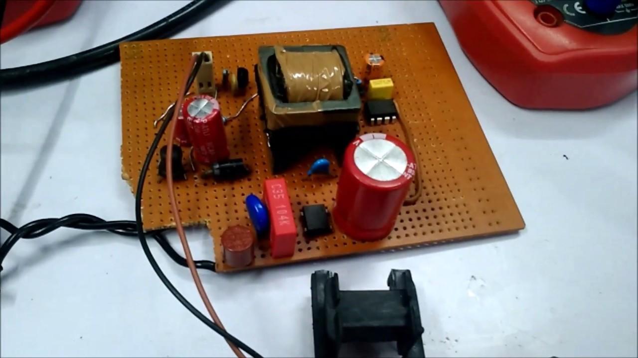 12v 1a Power Supply Circuit Design Using Viper22a