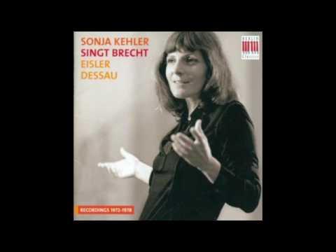 Paul Dessau - Lied der Mutter Courage (Sonja Kehler)