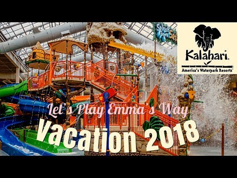KALAHARI INDOOR WATERPARK - 2018 Resort Review | Largest indoor waterpark