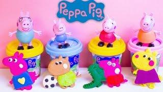 Play Doh Peppa Pig Space Rocket Dough Playset Peppa Pig Juguetes Plastilina Peppa Pig Toys Review