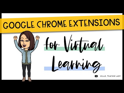My Top Google Chrome Extensions For Distance Learning 🖥️