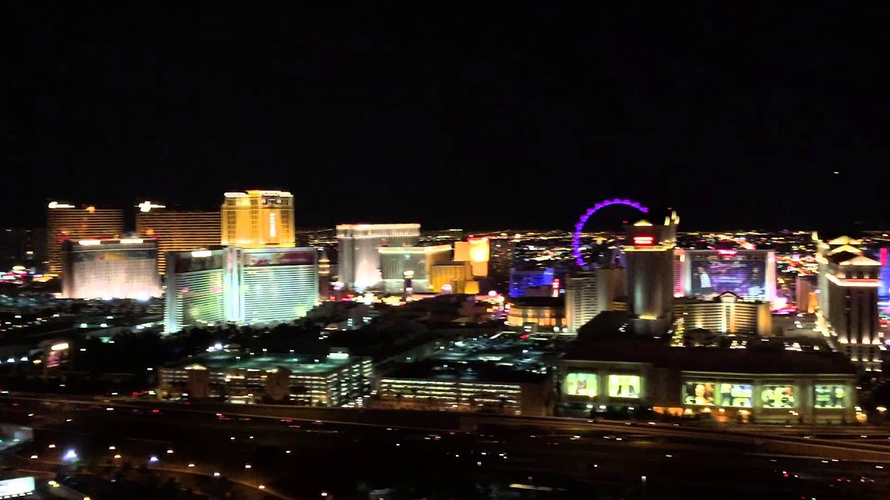 Las Vegas Nightview From The Rooftop Voodoo Bar At Rio Casino U0026 Resort    Part 2   YouTube