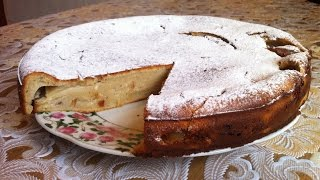 Творожный Пирог с Яблоками (Вкусный и Полезный) / Curd Pie With Apples / Простой Рецепт