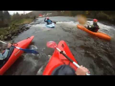 kayaking River Wye