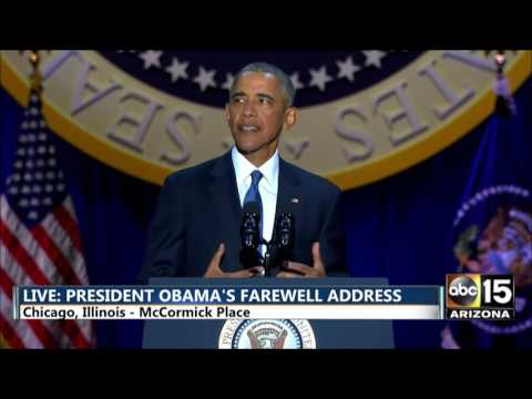 FULL: President Barack Obama's Farewell Address...