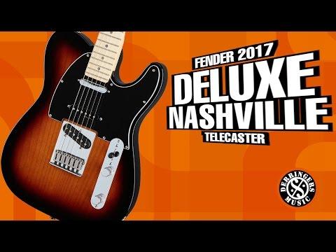 Fender Deluxe Nashville Telecaster Guitar 2017 | Derringers Music