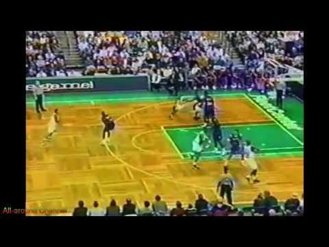 Dana Barros 13 Points Vs. Toronto Raptors, 1999.