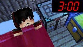 SAKIN GECE 3'TE LANETLİ KÖYE GİTMEYİN (Minecraft)