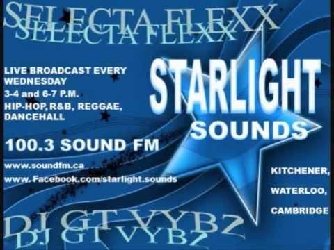Starlight Sounds Radio Show Reggae/Dancehall Mix 2013 DJ GT Vybz & Selecta Flexx