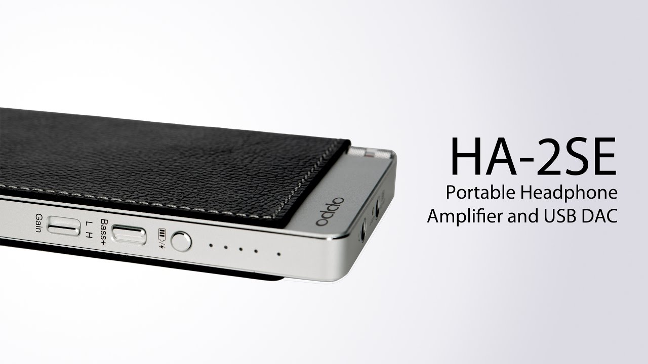 HA-2SE Portable Headphone Amplifier & USB DAC - OPPO Digital