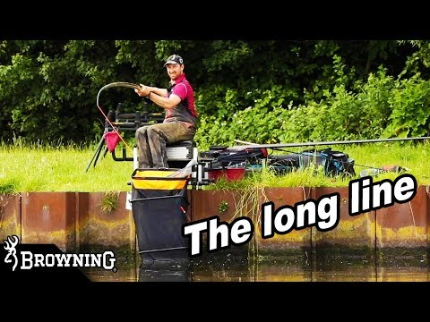 LONG LINE With The POLE - Deep Canal Fishing With Nick Crooks