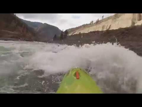 Fraser River 2016 Whitewater kayaking