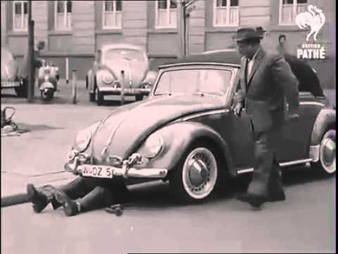 VW Beetle How to beat a Parking Ticket Circa 1940's