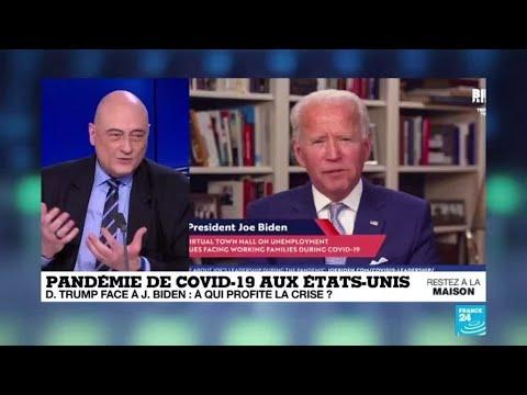 Covid-19 Aux États-Unis : Trump Face à Biden, à Qui Profite La Crise ?