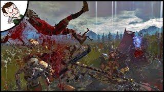 WALKING DEAD MEETS TOTAL WAR! 6 Dwarfs v 9000 Zombies - Total War WARHAMMER Gameplay