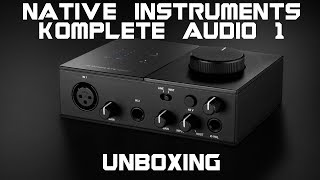 Native Instruments Komplete Audio 1 Audio Interface Unboxing & Overview