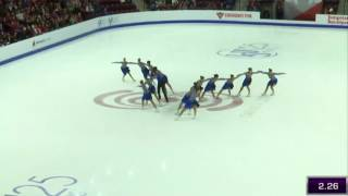 Team France SP - ISU World Junior Synchronized Skating Championships ® 2017