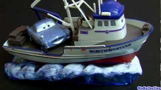 Cars 2 CRABBY BOAT Diecast Pixar Disney store Northwestern toy review by Blucollection