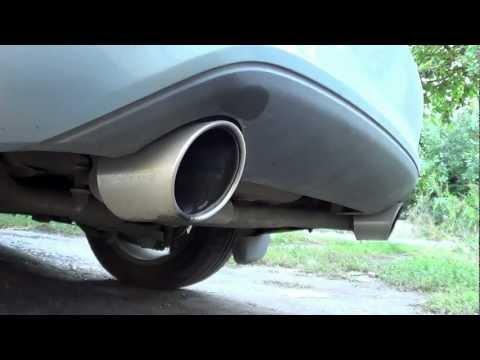Раздвоенный выхлоп Форд Фокус 2