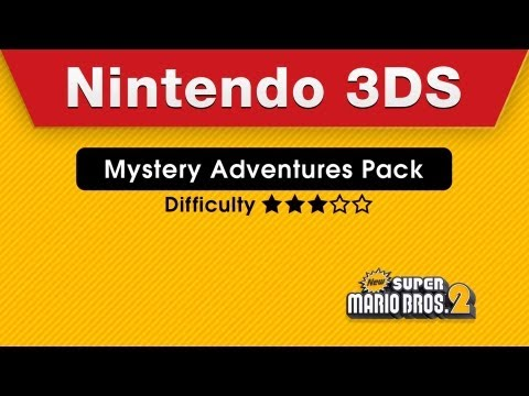 Nintendo 3DS - New Super Mario Bros. 2 Mystery Adventures Pack & Impossible Pack Trailer