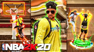 MY OFFENSIVE THREAT WENT CRAZY ON THE 1v1 COURT ON NBA 2K20! BEST BUILD & JUMPSHOT NBA 2K20