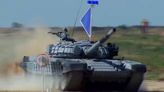first video of t 14 armata tank in action