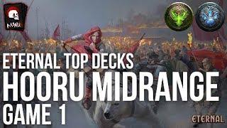 Eternal Top Decks - Hooru Midrange   Game 1 (ETS 1st)