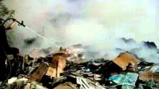 Zonguldak yangın Berk aydın zonguldak belediyesi karton yangını 2011