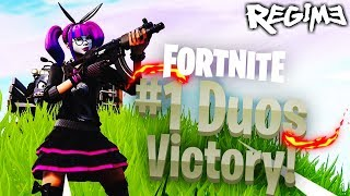 NEW Lace Skin - Fortnite - Duos Win - Battle Royale - Regime